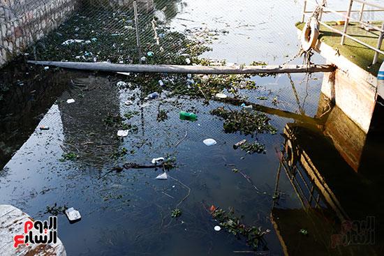 وزيرة البيئة تطلق حملة لتنظيف نهر النيل من المخلفات خاصة البلاستيكية (10)