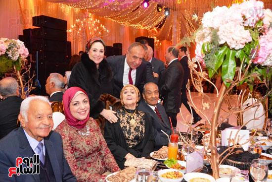 حفل زفاف نجل الوزير زكى عابدين يجمع كبار رجال الدولة (8)