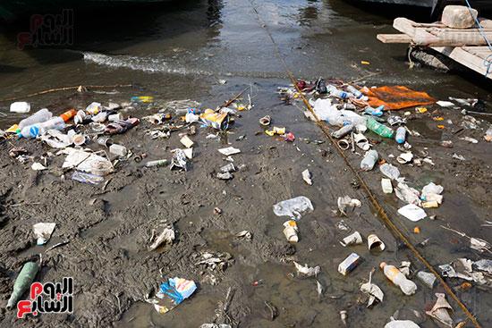 وزيرة البيئة تطلق حملة لتنظيف نهر النيل من المخلفات خاصة البلاستيكية (25)