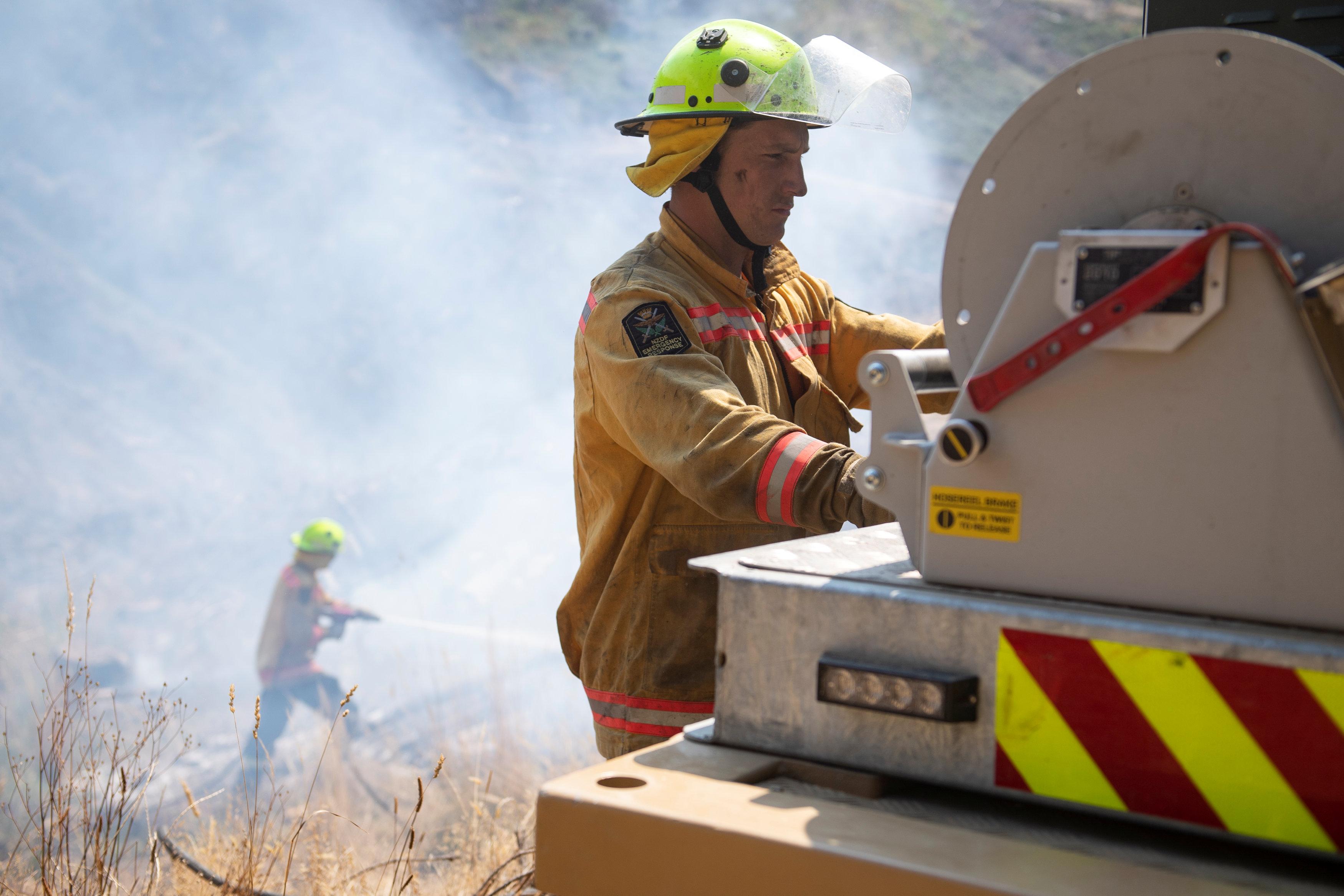 مكافحة حرائق الغابات فى نيوزيلندا (1)
