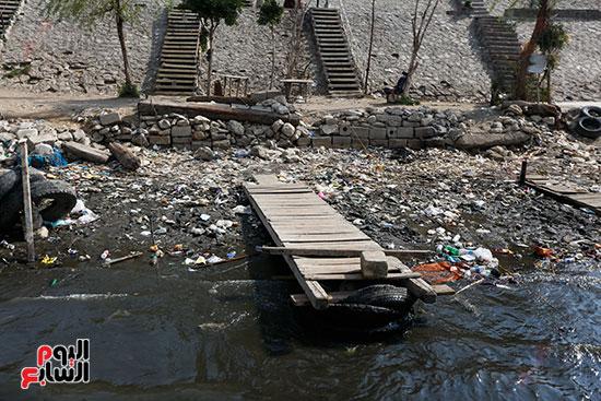 وزيرة البيئة تطلق حملة لتنظيف نهر النيل من المخلفات خاصة البلاستيكية (21)