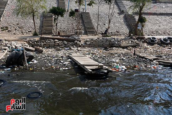 وزيرة البيئة تطلق حملة لتنظيف نهر النيل من المخلفات خاصة البلاستيكية (20)