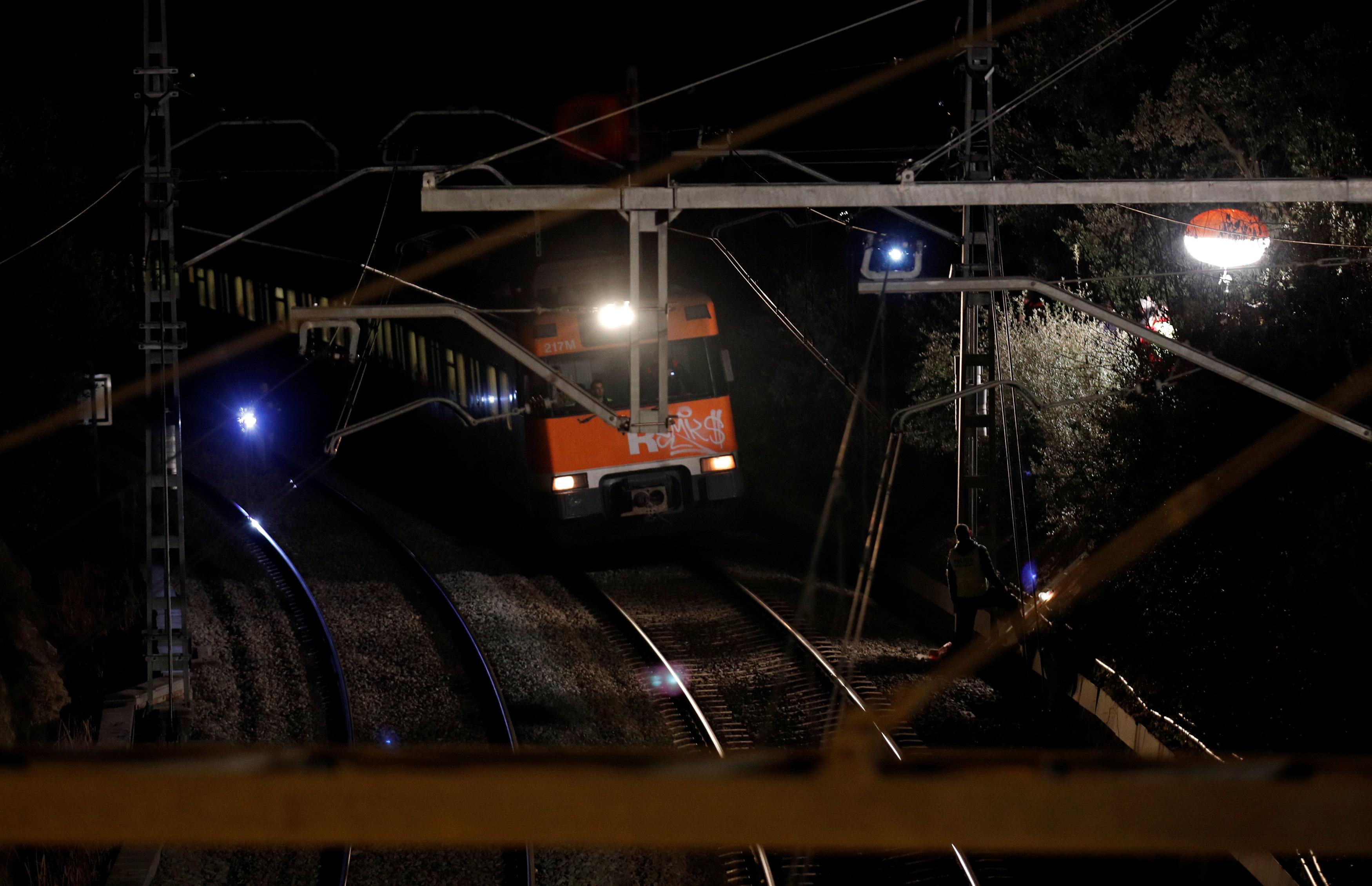 حادث تصادم قطارين بإسبانيا (2)