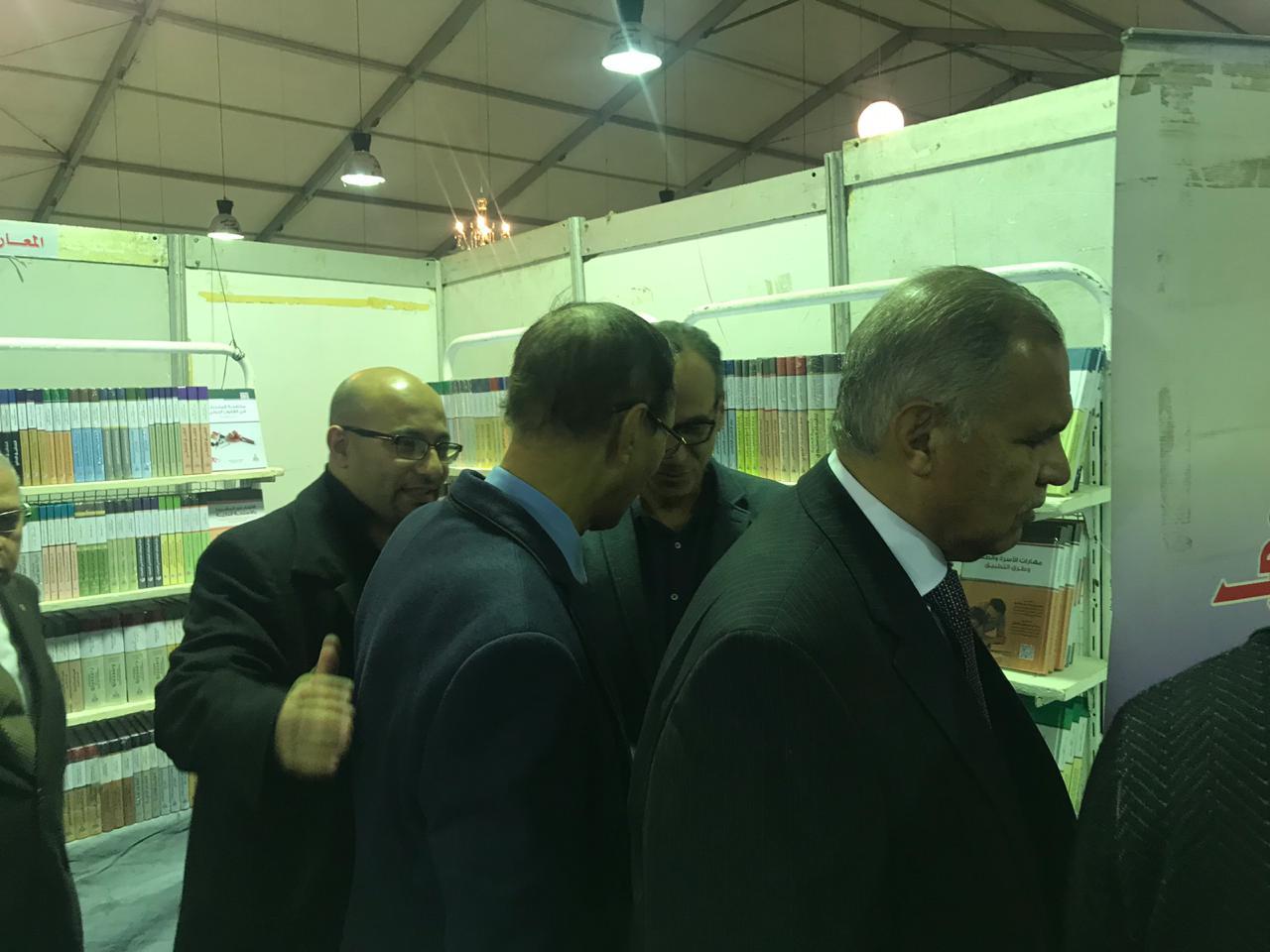 خلال افتتاح معرض زايد العربى للكتاب (1)
