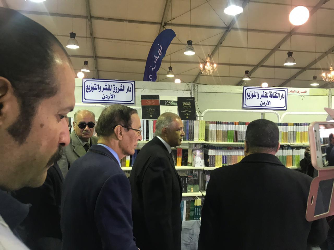 خلال افتتاح معرض زايد العربى للكتاب (3)