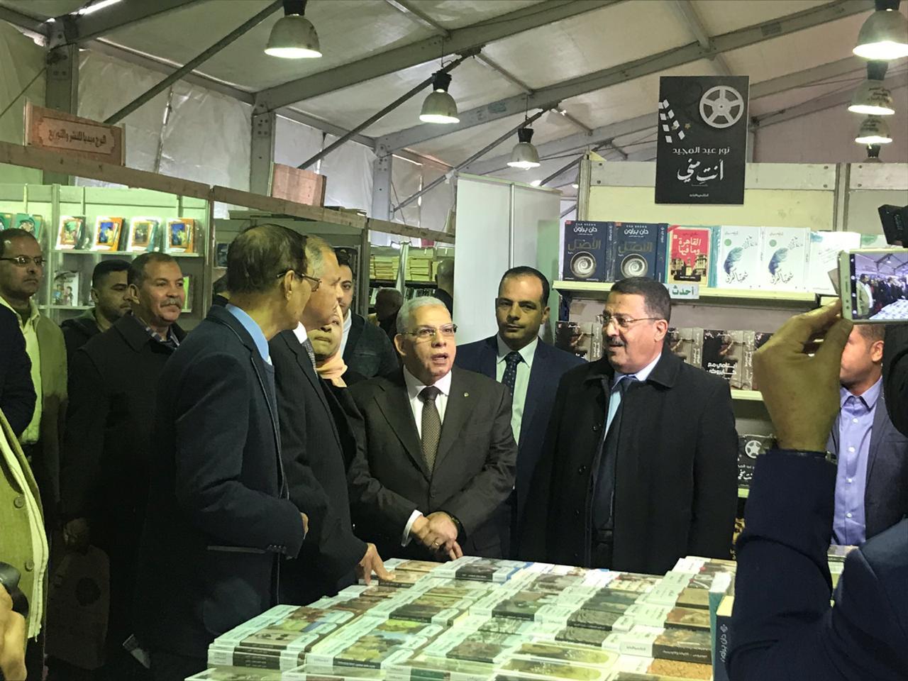 خلال افتتاح معرض زايد العربى للكتاب (2)