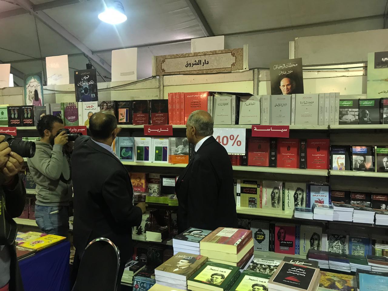 خلال افتتاح معرض زايد العربى للكتاب (4)
