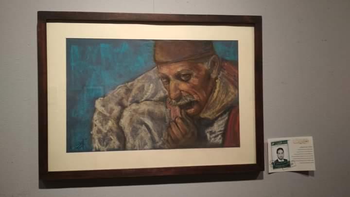 عمل فنى بمعرض تراثنا.. رسالة إلى الماضى بدار الأوبرا المصرية (2)