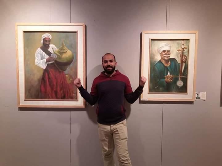 جانب من معرض تراثنا.. رسالة إلى الماضى بدار الأوبرا المصرية (3)