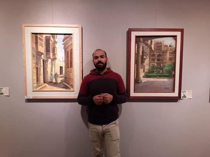 جانب من معرض تراثنا.. رسالة إلى الماضى بدار الأوبرا المصرية