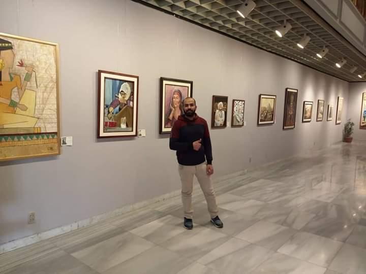 جانب من معرض تراثنا.. رسالة إلى الماضى بدار الأوبرا المصرية (1)