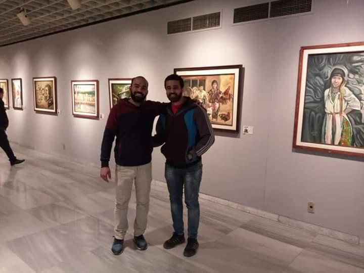 جانب من معرض تراثنا.. رسالة إلى الماضى بدار الأوبرا المصرية (5)