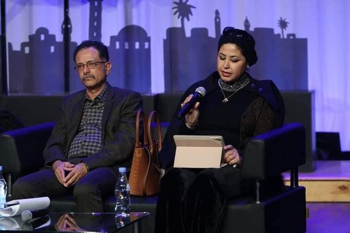 الكاتبة السورية الدكتورة أسماء معيكل فى ملتقى تونس للرواية العربية 2