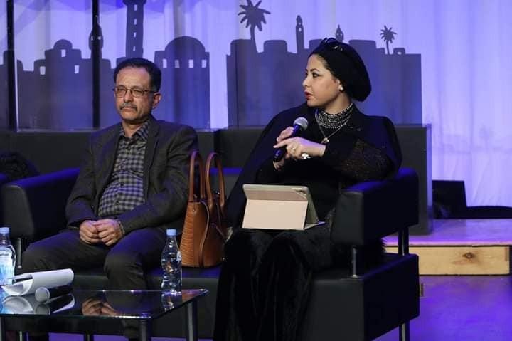 الكاتبة السورية الدكتورة أسماء معيكل فى ملتقى تونس للرواية العربية