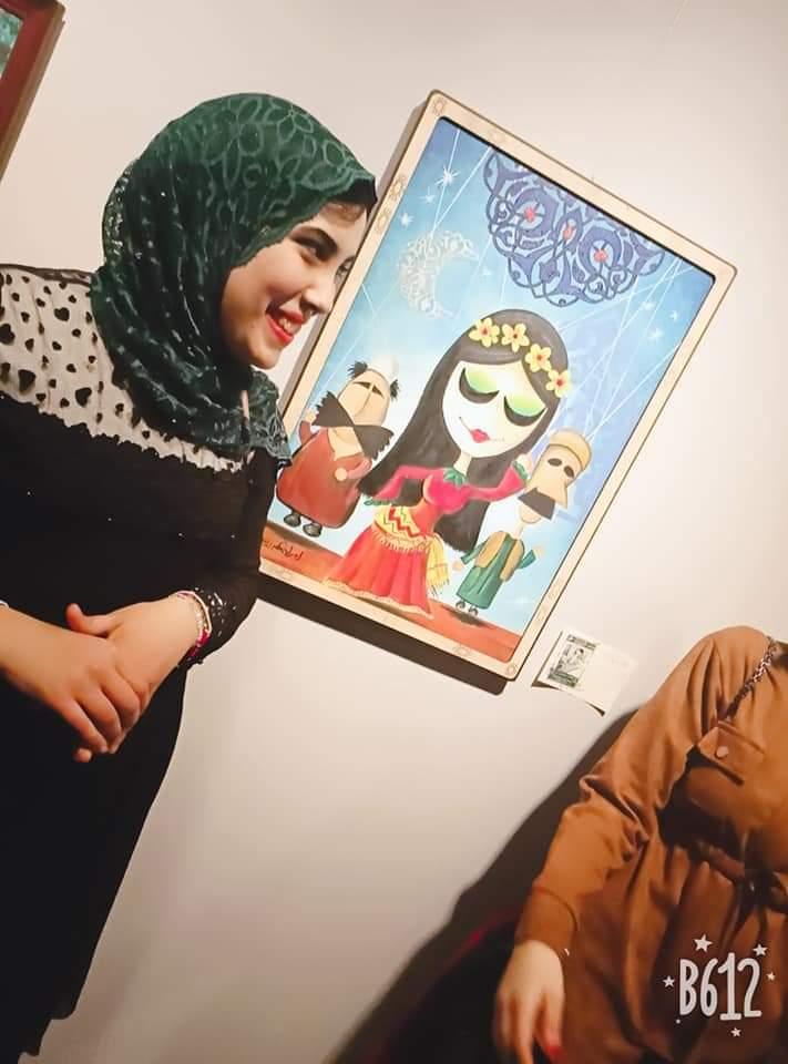 عمل فنى بمعرض تراثنا.. رسالة إلى الماضى بدار الأوبرا المصرية (15)