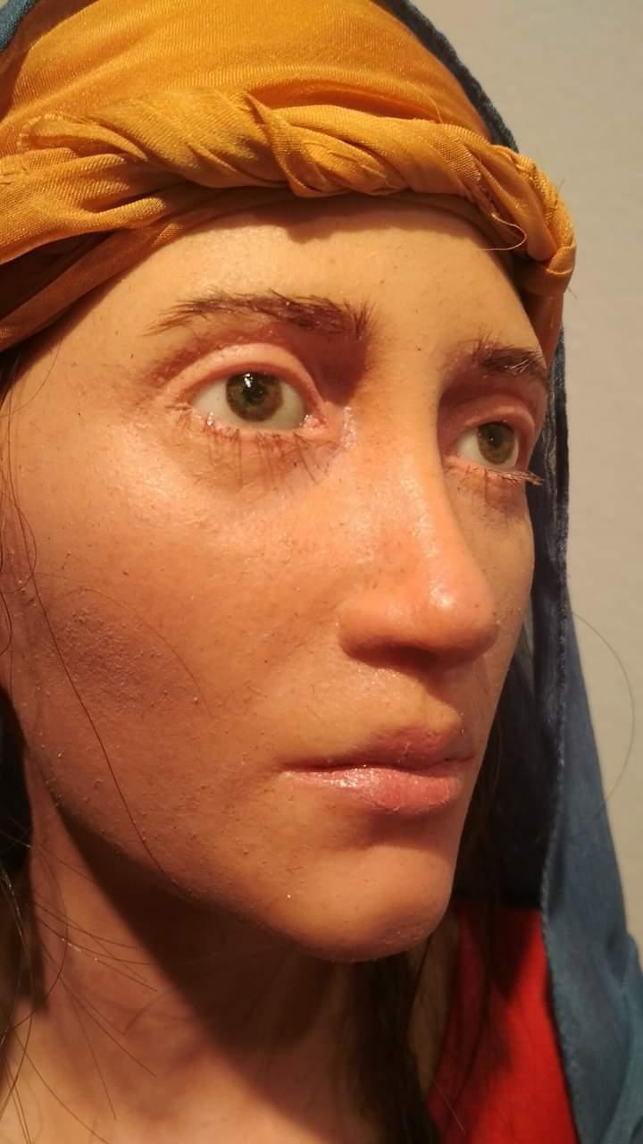 عمل فنى بمعرض تراثنا.. رسالة إلى الماضى بدار الأوبرا المصرية (4)