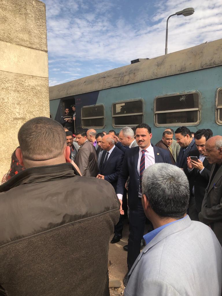 جولة وزير النقل بمحطة مصر  (14)