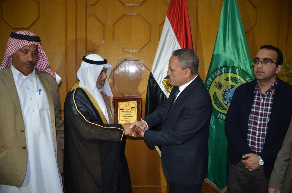 اللواء حمدى عثمان، محافظ الإسماعيلية (6)