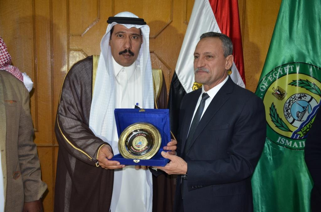 اللواء حمدى عثمان، محافظ الإسماعيلية (7)