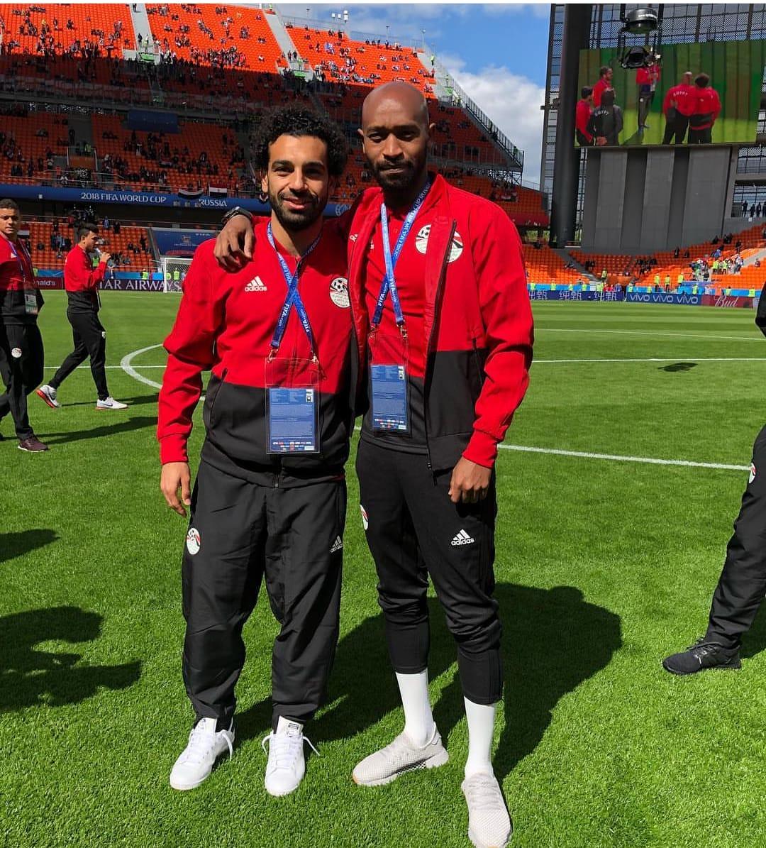 شيكابال مع محمد صالح فى كأس العالم بروسيا