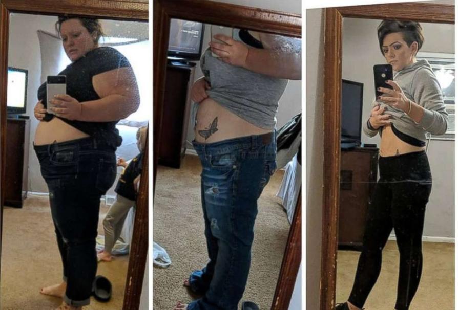 مسيرة خسارة وزنها