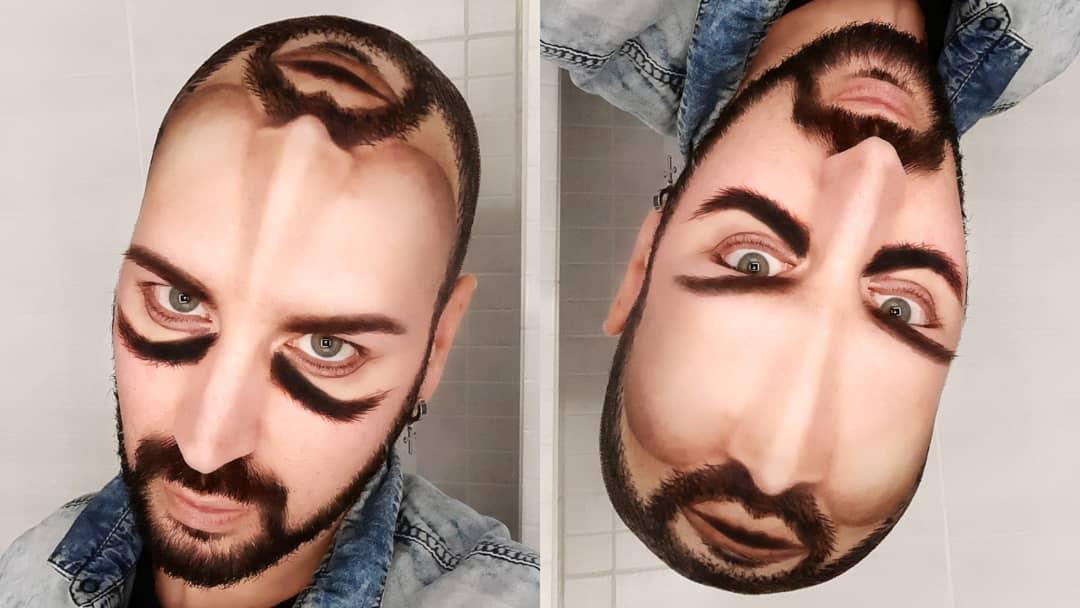 رسم على الوجه