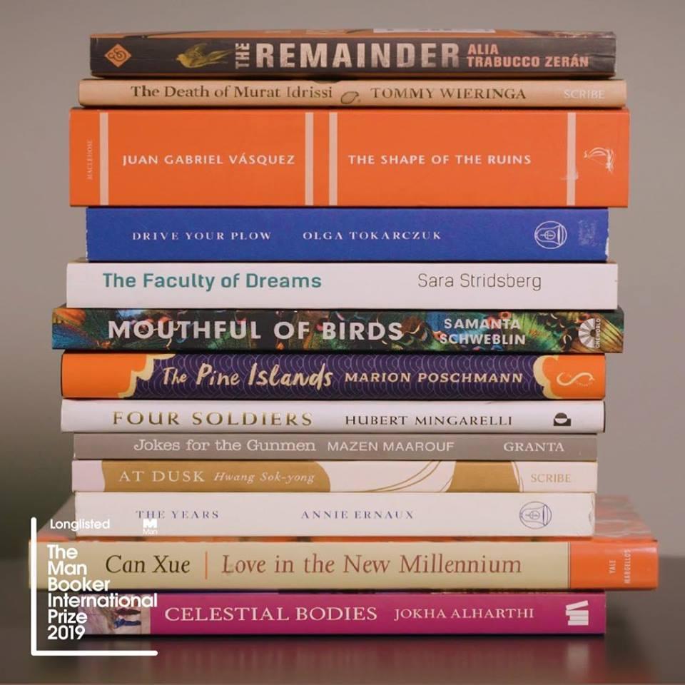 روايات القائمة الطويلة جائزة مان بوكر العالمية 2019