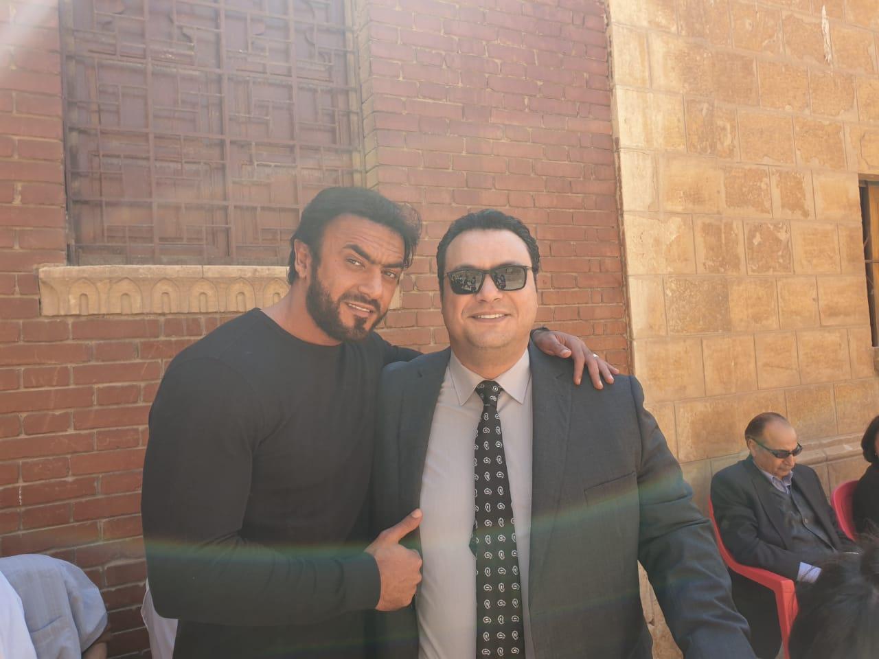 مراد مكرم وأحمد العوضى