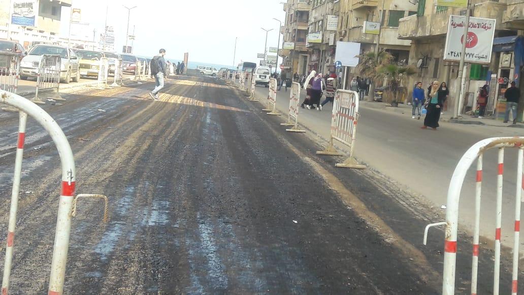توسعة الشوارع الرئيسية بالإسكندرية (11)
