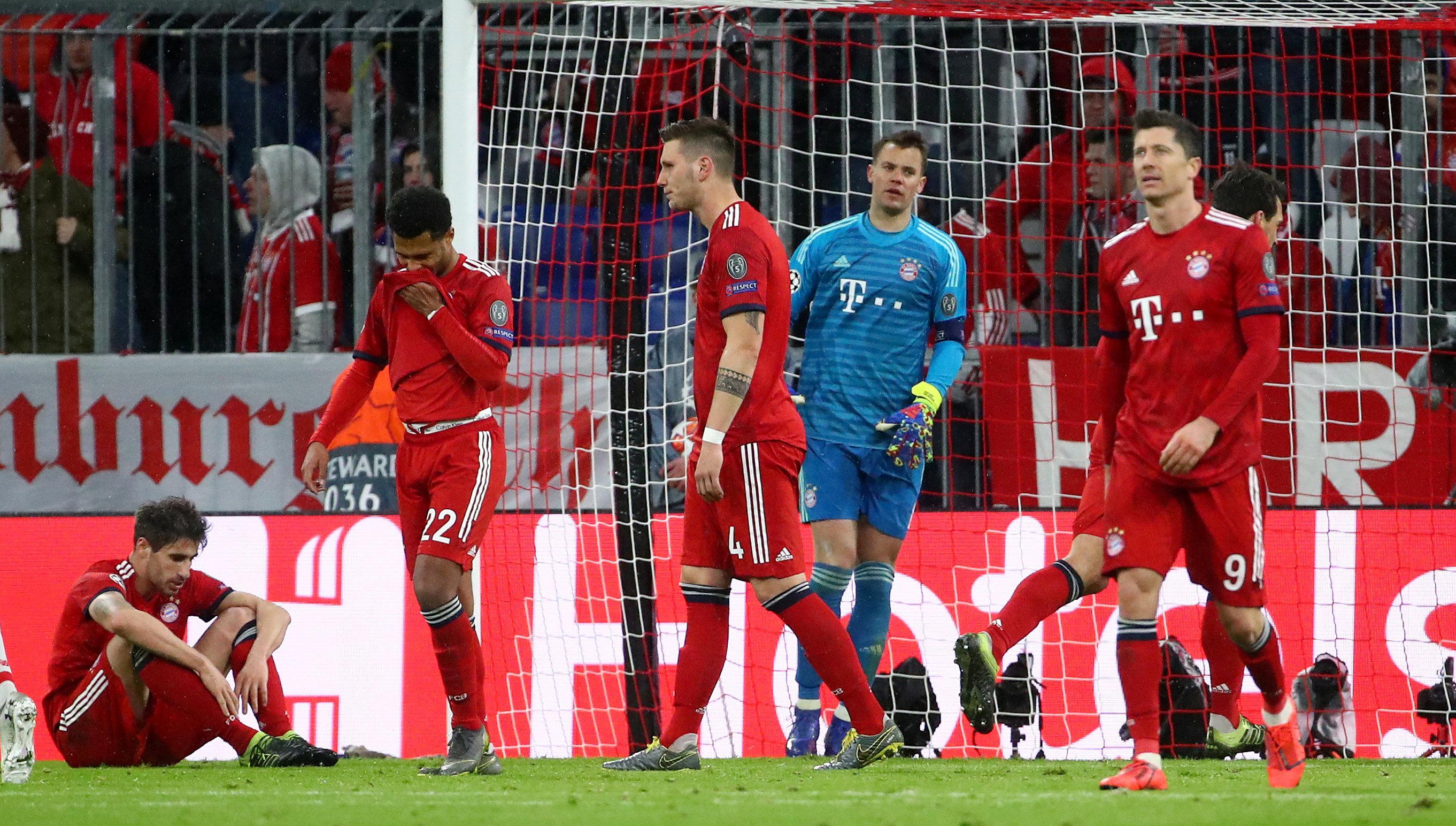 بايرن ميونخ يودع دوري أبطال أوروبا