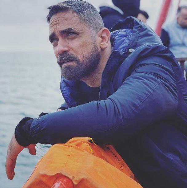 أمير كرارة فى الإسكندرية لتصوير مسلسل كلبش 3