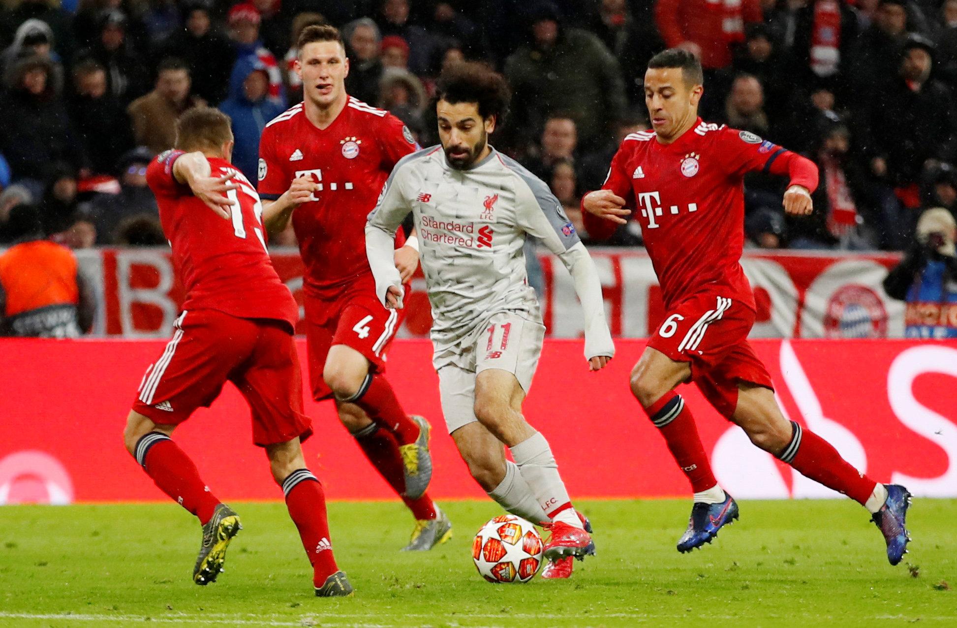 البايرن ضد ليفربول