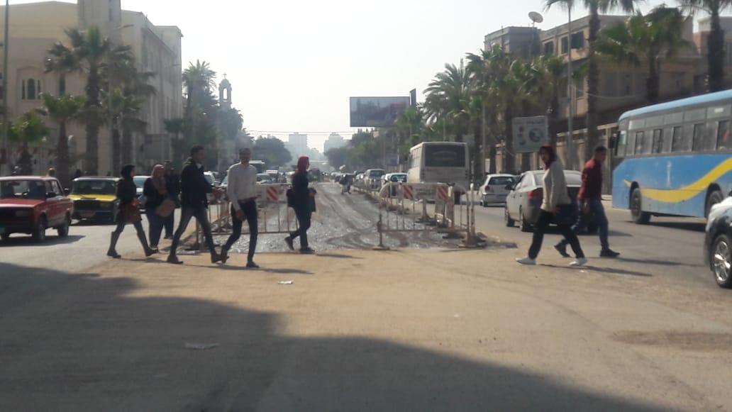 توسعة الشوارع الرئيسية بالإسكندرية (16)