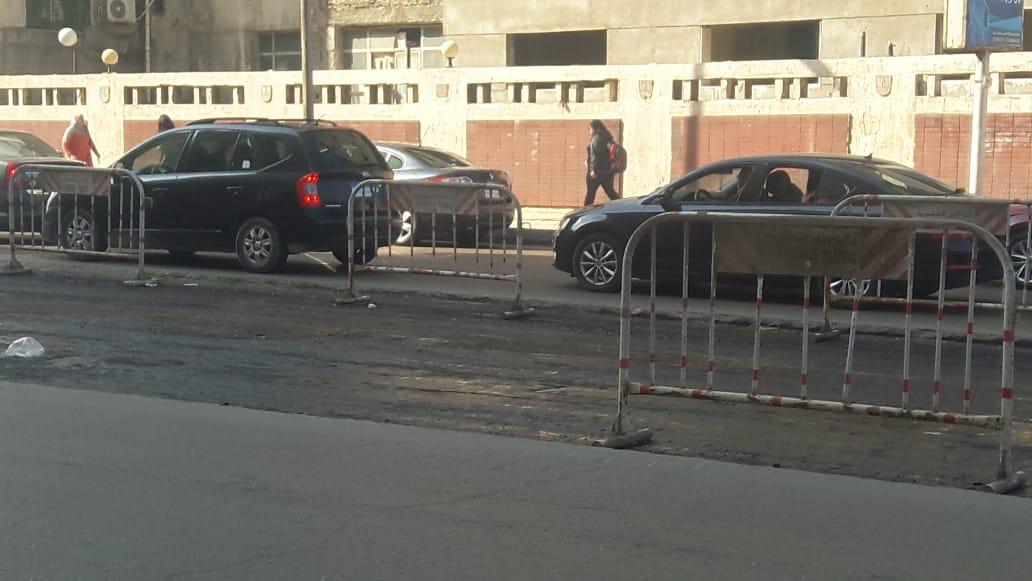 توسعة الشوارع الرئيسية بالإسكندرية (12)