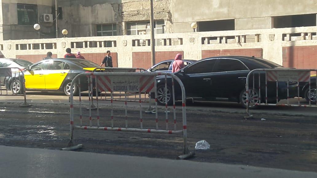 توسعة الشوارع الرئيسية بالإسكندرية (9)