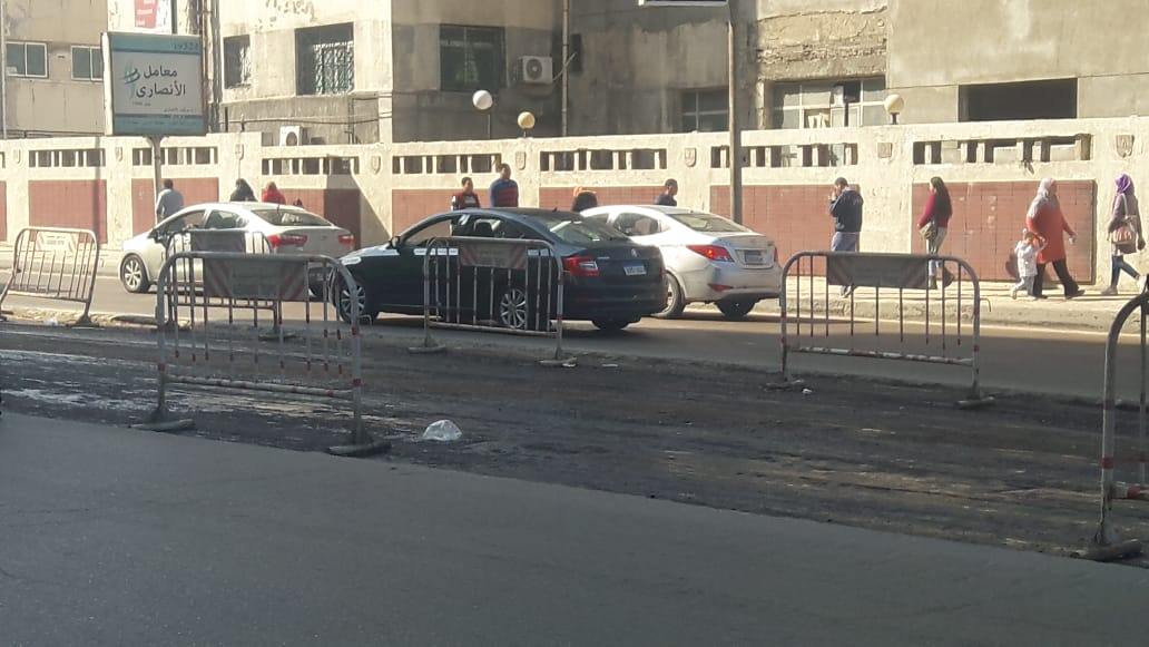 توسعة الشوارع الرئيسية بالإسكندرية (7)