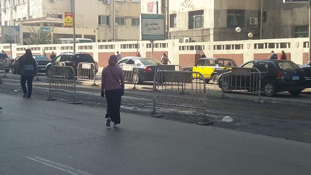 توسعة الشوارع الرئيسية بالإسكندرية (6)