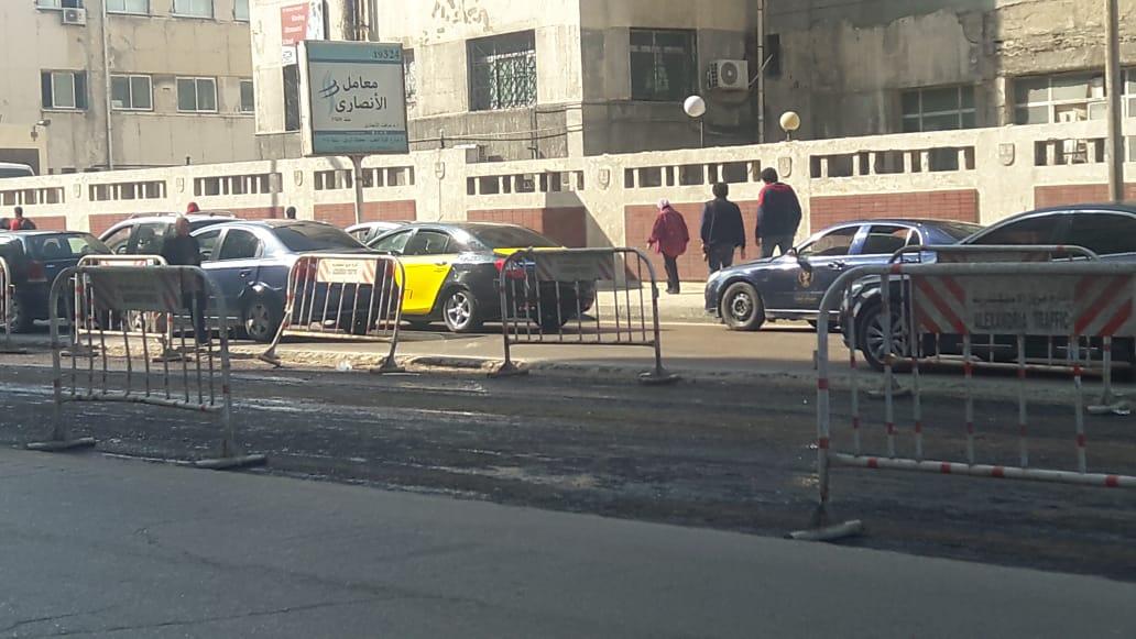 توسعة الشوارع الرئيسية بالإسكندرية (14)