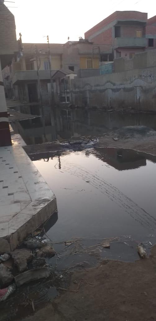 انتشار مياه الصرف