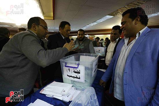 فرز انتخابات نقابة الصحفيين (7)