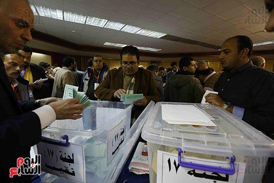 فرز انتخابات نقابة الصحفيين (5)