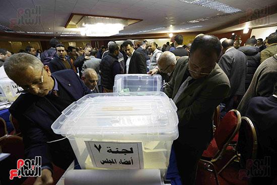 فرز انتخابات نقابة الصحفيين (2)