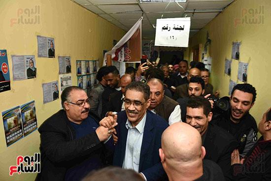 فوز ضياء رشوان بمنصب نقيب الصحفيين (41)