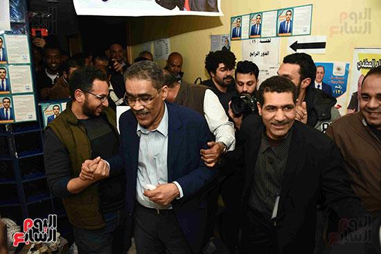 انتصار  ضياء رشوان بمنصب نقيب الصحفيين (42)