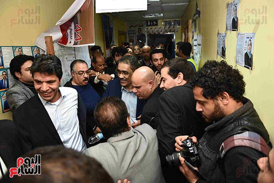 فوز ضياء رشوان بمنصب نقيب الصحفيين (40)