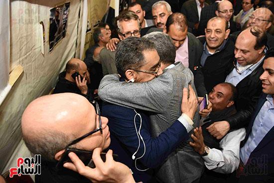 انتصار  ضياء رشوان بمنصب نقيب الصحفيين (16)