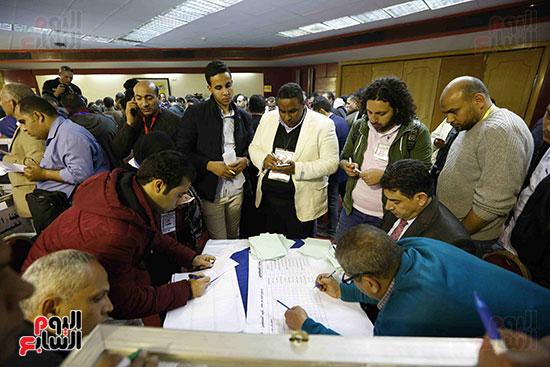 فرز انتخابات نقابة الصحفيين (15)