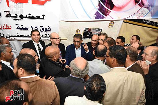 انتصار  ضياء رشوان بمنصب نقيب الصحفيين (4)