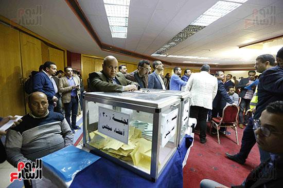 فرز انتخابات نقابة الصحفيين (1)