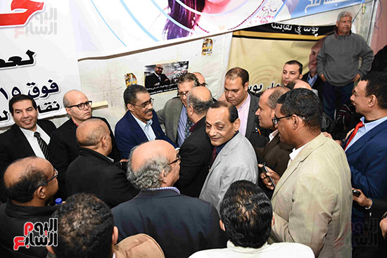 انتصار  ضياء رشوان بمنصب نقيب الصحفيين (3)